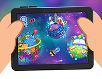 Redesign Personal Kids App - Mobile Game. Kidloom