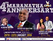 Maranatha 4th Anniversary Celebrations