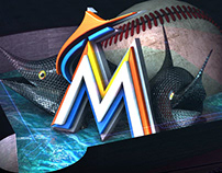 MLB Miami Marlins: Stadium Projection Pitch