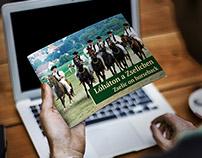 A4 horizontal brochure design