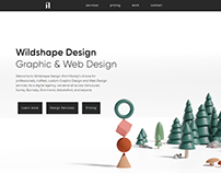 Wildshape Design - Landing Page Mock Up