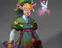 Zelda - Link Redesign