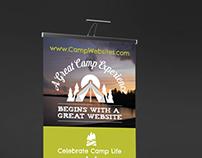 CampWebsites.com Tradeshow Materials