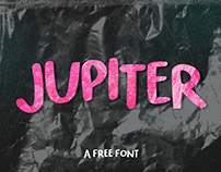 JUPITER / FREE FONT DOWNLOAD