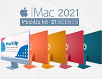 iMac 2021 Mockup Kit