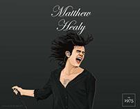 Matthew Healy Fanart vector