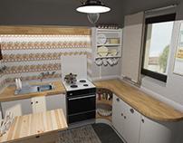 Μερική ανακαίνιση κουζίνας στο Ρέθυμνο