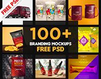100+ Branding Mockup | Branding Identity Mockup | Free