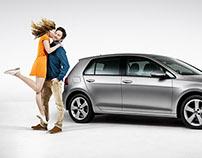 Retouching / Automotive / Volkswagen Golf
