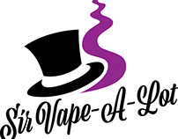 Sir Vape-A-Lot Logo Redesign