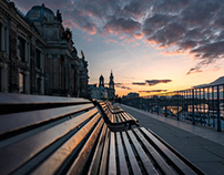 Sunday Evening in Dresden