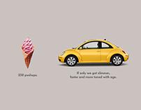 Social Media Ads for - Volkswagen - Beetle