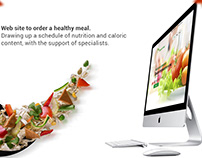 Web site to order a healthy meal