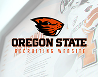 Oregon State Football Recruiting Website [Concept]