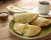 Fotografías de alimentos: empanadas