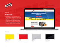 U-Store-It Website Design
