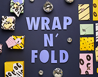 Wrap n' fold : creative christmas wrapping bar