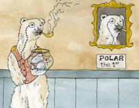 Les ours polaires humanoïdes