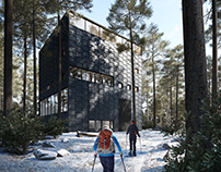 Museum in the woods