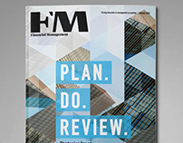 Financial Management (FM) magazine cover designs 2018