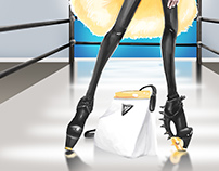 The Sassy Bag: Wrestler
