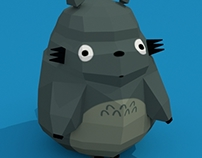 My Neighbor Totoro Low Poly