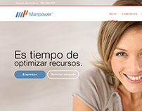 Manpower. Website.