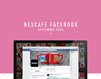 Nescafé - Global Facebook Content September 2014