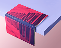 A ausência que preenche tudo // Design Editorial