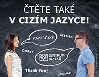 Digital and print campaign for language school