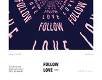 Poster : FOLLOW LOVE