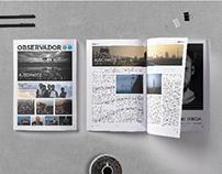 Journal Design | Observador