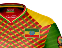 Ethiopian National Team concept