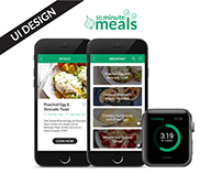 10 Minute Meals - UI Design