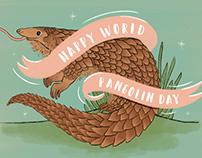 World Pangolin Day Infographic