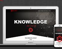 Web design. Home page