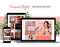 Campaña digital Women´secret Colombia