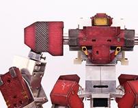 RED GANKER ROBOT