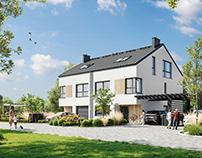 Housing estate visualizations - Warsaw