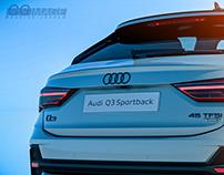 Audi Q3 sportback   CGI doodles
