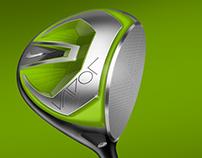 Nike Golf Club Sketching