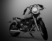 Bike Model & Render
