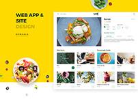 Peel Foods, Web App for Food Ordering