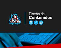 Diseño de Contenidos / Redes sociales y Mailing