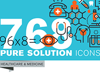 Set of Thin Line Icons of Healthcare and Medicine
