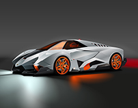 Vector Lamborghini Egoista
