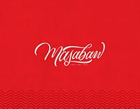 masabaw lettering logo