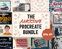 The Massive Procreate Bundle - 95% Off