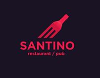 1.Logo for Santino restaurant/pub