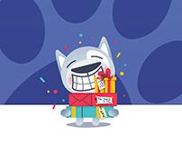 Wlofy The Dog - iMessage Sticker Pack